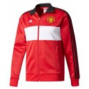 Official authentic Manchester United Jacket, Red, Adidas