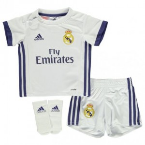 8d8b25d6f2c Official authentic Real Madrid Mini Kit 16 17 home