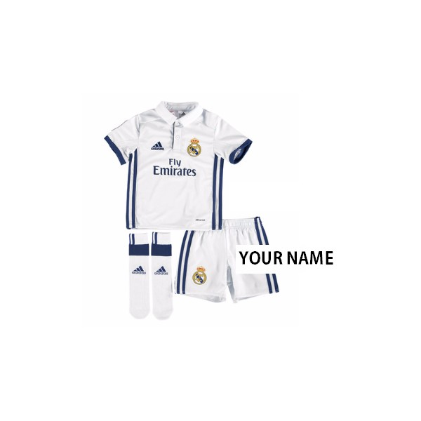 17bf5022f66 ... Official authentic Real Madrid Mini Kit Your Name 15 16 home