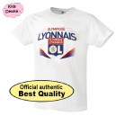 Official Authentic Olympique Lyon T-Shirt, Kids