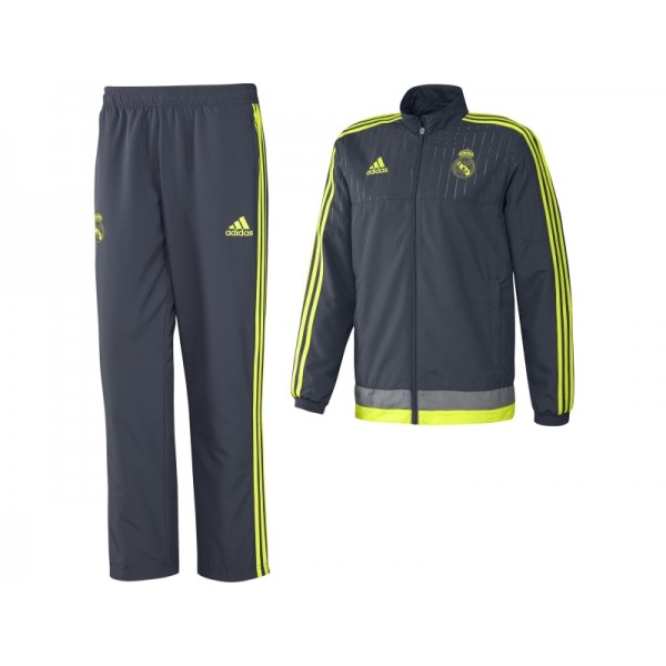 Official Authentic Real Madrid Training Presentation Suit e42ffd437cc