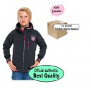 Official Authentic FC Bayern Munchen Softshell Jacket, Kids, In Stock