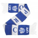 Official Authentic Scarf Qeens Park Rangers, Blue/White, In Stock