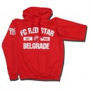 Official Authentic FC Bayern Munchen Hoodie, München, In Stock, Red