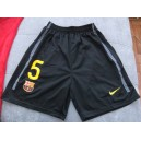 Home shorts FC Barcelona Puyol 2011/12, away