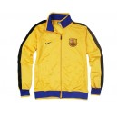 FC Barcelona sports jacket, yellow, Nike II.