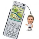 David Beckham Phone Dangly