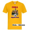 CSKA Moskow T-Shirt, Gold Style Kids
