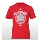T-Shirt FC Bayern Munich, Adidas, Meister 2013 In Stock