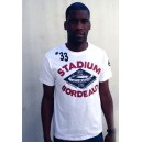 T-shirt Girondins Bordeaux, Stadion Style