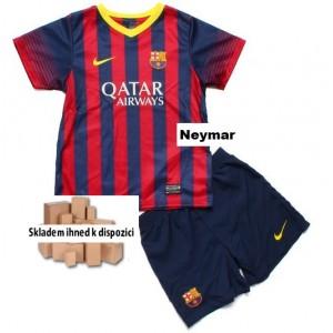 Dětský dres Neymar FC Barcelona 2013/14, domácí, Skladem