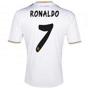 Dres Real Madrid Ronaldo 2013/14, domácí, malý kaz, Skladem