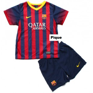 Dětský dres Pique FC Barcelona 2013/14, domácí, skladem