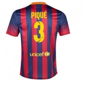 Dres Pique FC Barcelona 2013/14 domácí - skladem