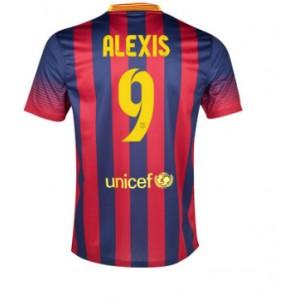 Dres Alexis FC Barcelona 2013/14 domácí - skladem