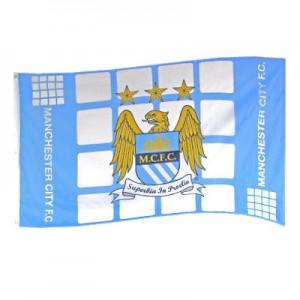 Oficiální autentická vlajka Manchester City