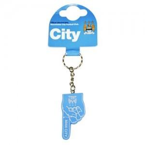 Oficiální autentická klíčenka Manchester City