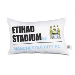 Oficiální autentický polštář Manchester City
