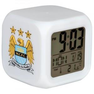 Oficiální autentický budík Manchester City