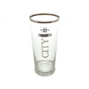 Oficiální autentická sklenička Manchester City
