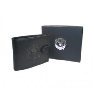 Oficiální autentic. kožená peněženka a pouzdro Manchester United