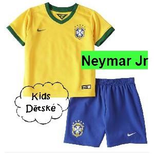 Dětský dres Brazílie Neymar Jr 2014, World Cup, domácí