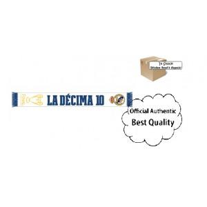 Oficiální autentická šála Real Madrid, La Décima, Adidas, Sklade