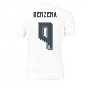 Oficiální autentický dres Real Madrid Benzema 15/16 domácí, děts