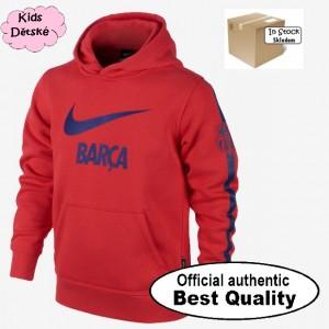 Oficiální autentická dětská mikina FC Barcelona, Nike, Skladem