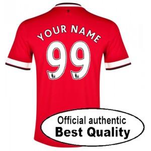 Oficiální dres Manchester United se jménem hráče 2014/15 domácí