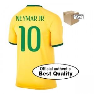Oficiální autentický dres Brazílie Neymar 2014, domácí, SKladem