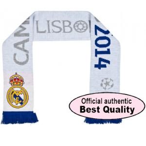 Oficiální autentická šála Real Madrid UCL Winners 2014