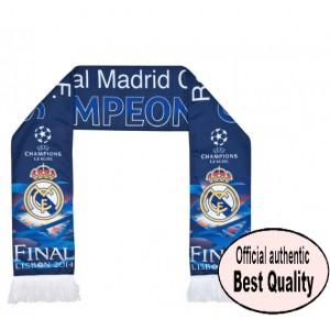 Oficiální autentická šála Real Madrid UCL Winners