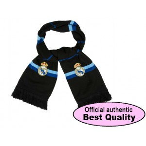 Oficiální autentická šála Real Madrid Black Style