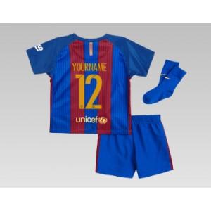 Oficiální dětský mini dres Barcelona 2016/17, vlastní jméno, dom