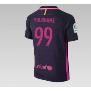 Oficiální dětský dres Barcelona 2016/17, vaše jméno, venkovni