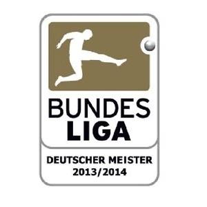 Oficiální autentická nášivka soutěže Bundesliga