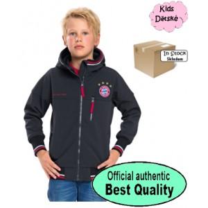 Oficiální autentická dětská Softshell bunda FC Bayern Mnichov