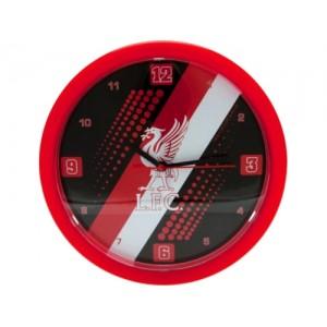 Oficiální autentické hodiny na zeď FC Liverpool
