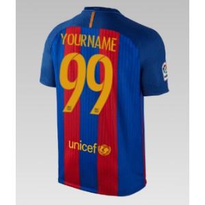 Oficiální dětský dres Barcelona 2016/17, vaše jméno, domácí
