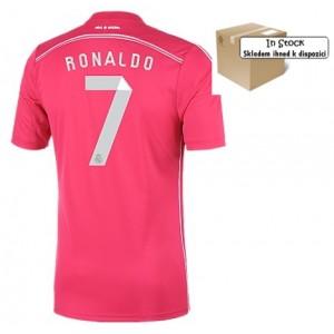 Dres Real Madrid Ronaldo 2014/15 Pink, skladem