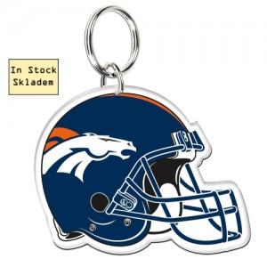 Klíčenka Denver Broncos, High Definition Logo, Skladem