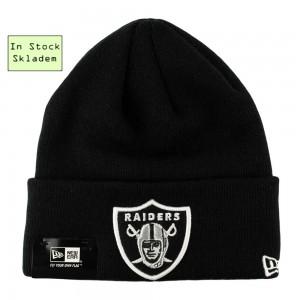 Zimní čepice Oakland Raiders, New Era Oversized Logo, Skladem