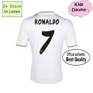 Oficiální dětský dres Real Madrid Ronaldo 13/14 domácí, skladem