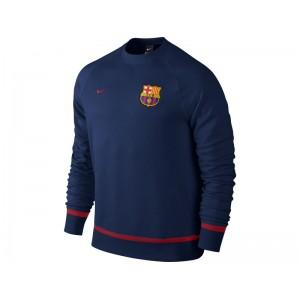 Oficiální autentická mikina FC Barcelona, Navy, Nike, Skladem