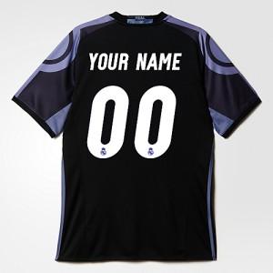 Oficiální autentický dres Real Madrid vlastní jméno 16/17 Third