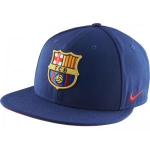 Oficiální autentická kšiltovka FC Barcelona, Blue, Nike