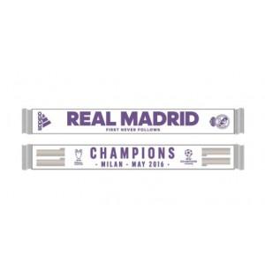 Oficiální autentická šála Real Madrid, La Undécima, Adidas
