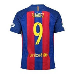 Oficiální autentický dres Barcelona Suárez 16/17 domácí, Nike