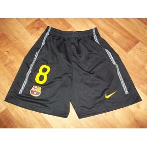 Trenýrky FC Barcelona Iniesta 2011/12, venkovní